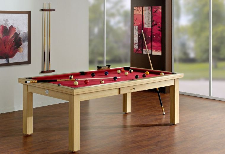Une table de billard convertible design dans votre salon | Convertible
