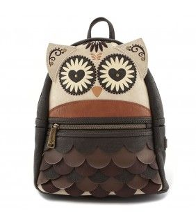 009d365e7c2d Loungefly Owl Mini Faux Leather Backpack. Loungefly Owl with Heart Eyes ...