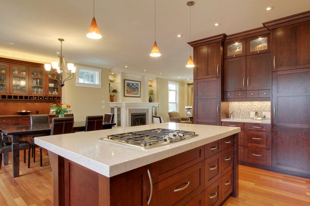cherry kitchen traditional kitchen cabinets calgary nexs cabinets inc - Kitchens With Cherry Cabinets