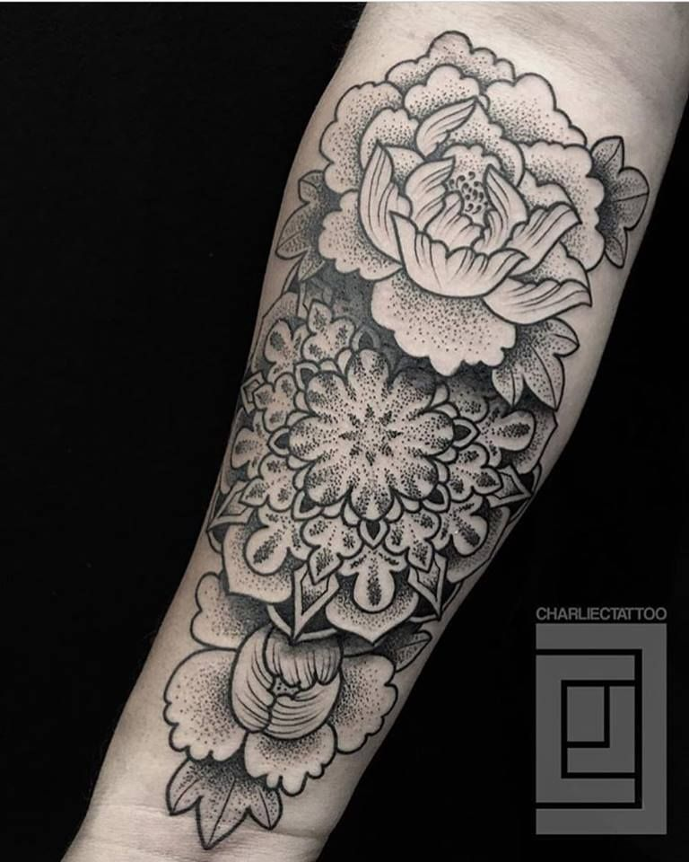 Forearm Dot Work By Charlie Cung Of Guru Tattoo San Diego Guru Tattoo Tattoos Beautiful Tattoos