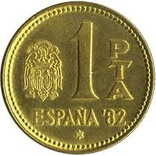 Moneda De 1 Peseta Monedas Monedas De Euro Sellos
