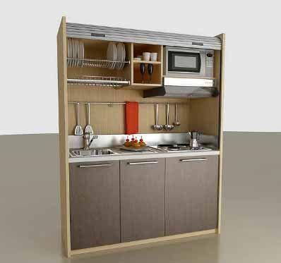 Compact Mini Kitchens | MOBILSPAZIO CONTRACT MINI KITCHEN