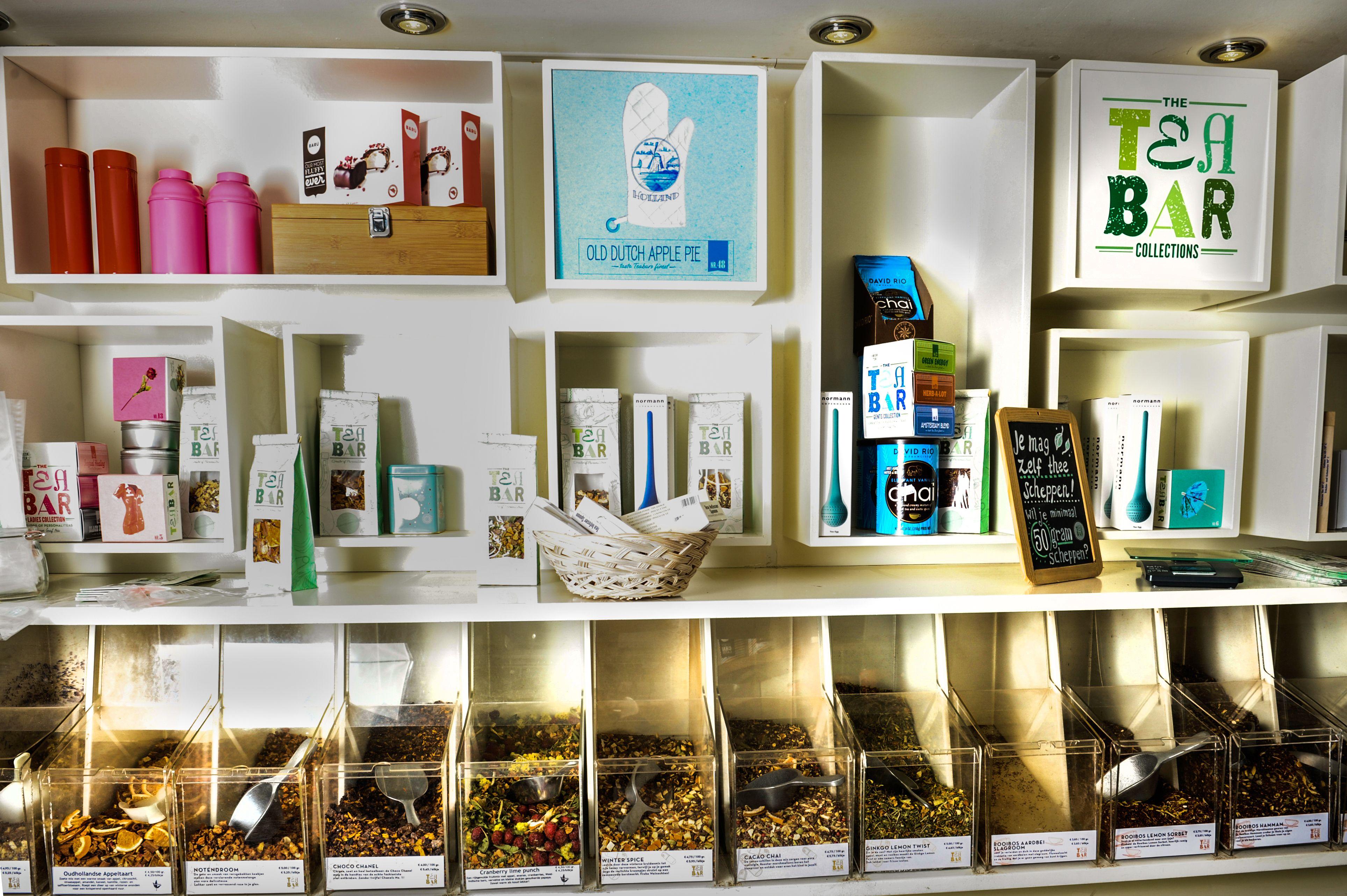 Tea Bar self service tea shop (Amsterdam) www.teabar.nl