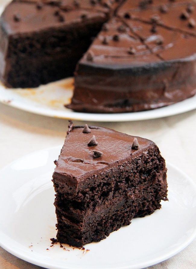 Healthy Chocolate Beet Layer Cake by mouthwateringfoods Cake