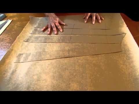 Como fazer blusa de alcinha evasê. aula 42 - YouTube