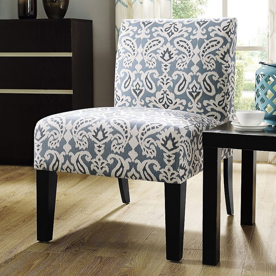 Best Jane Accent Chair Dusty Blue Paisley Accent Chairs 400 x 300