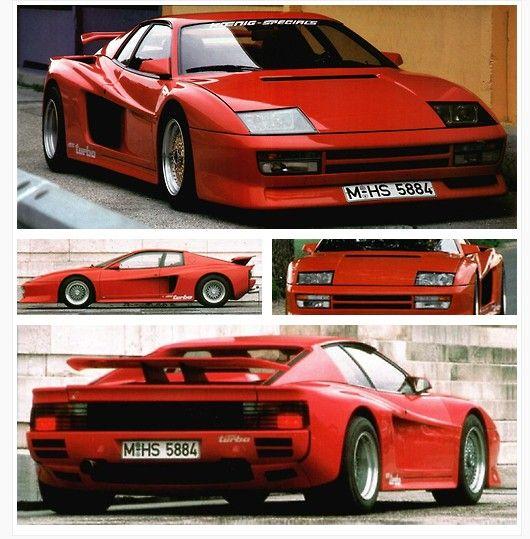 Ferrari Testarossa: 1985 Ferrari Testarossa Turbo By Koenig Specials