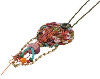 Pendant Necklace Long Tassel necklace Ethnic jewelry