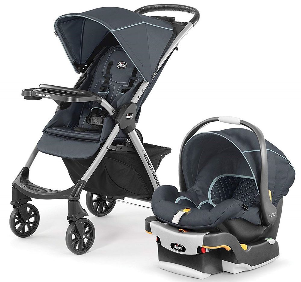 Chicco Mini Bravo Plus Travel System Stroller w/ KeyFit 30 ...
