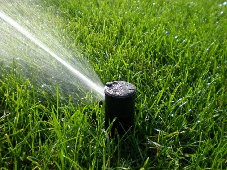Tired Of Wasting Water With That Dumb Sprinkler Meet The Smart Sprinkler Controller Best Lawn Sprinkler Sprinkler System Diy Underground Sprinkler