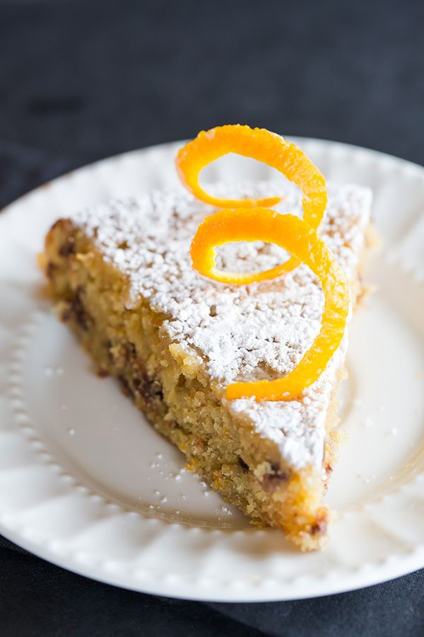 This Orange-Chocolate Chip Cake is a wonderfully moist buttermilk cake spiked with tons of orange flavor and loads of mini chocolate chips.