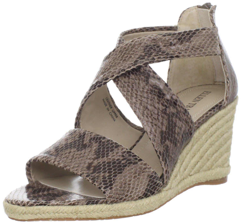 c55a269fbdc Ellen Tracy Women's Edison Wedge Sandal | My Style | Sandals, Shoes ...