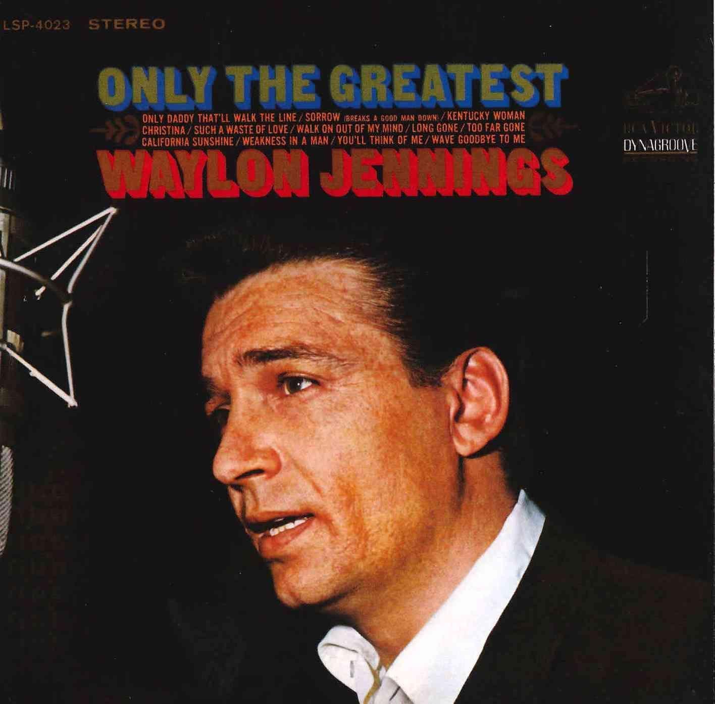 Waylon Jennings - Only The Greatest, Yellow