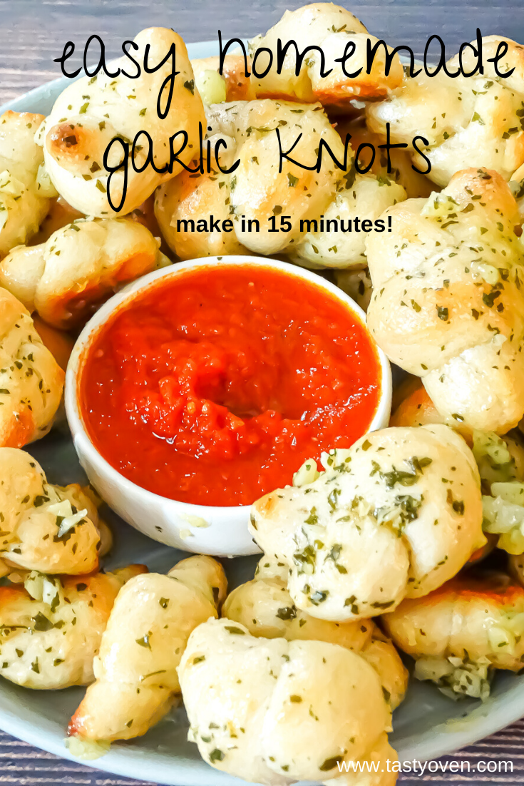Easy Garlic Knots Recipe, Super Bowl Party Food