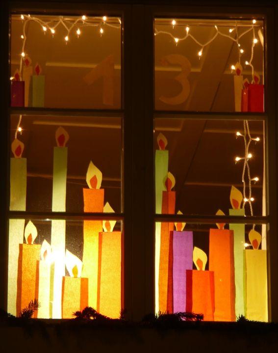 Wachtvereinigung dorfmeilen adventsfenster 2012 basteln pinterest adventsfenster - Fensterdeko weihnachten grundschule ...