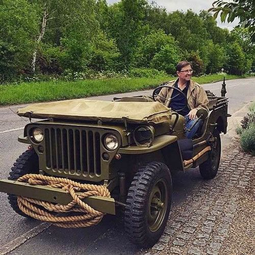 1942 Willys MB - Photo Submitted By Russell Cook.