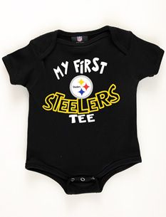 1a98e063 Pittsburgh Steelers Newborn Baby Bodysuit | Little man's closet ...