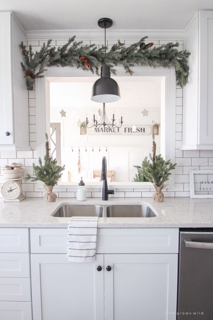 winter wonderland christmas kitchen farmhouse kitchen decor kitchen decor kitchen themes on farmhouse kitchen xmas id=97544
