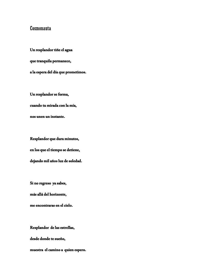 Bellísima poesía en prosa de Ernestcompo..
