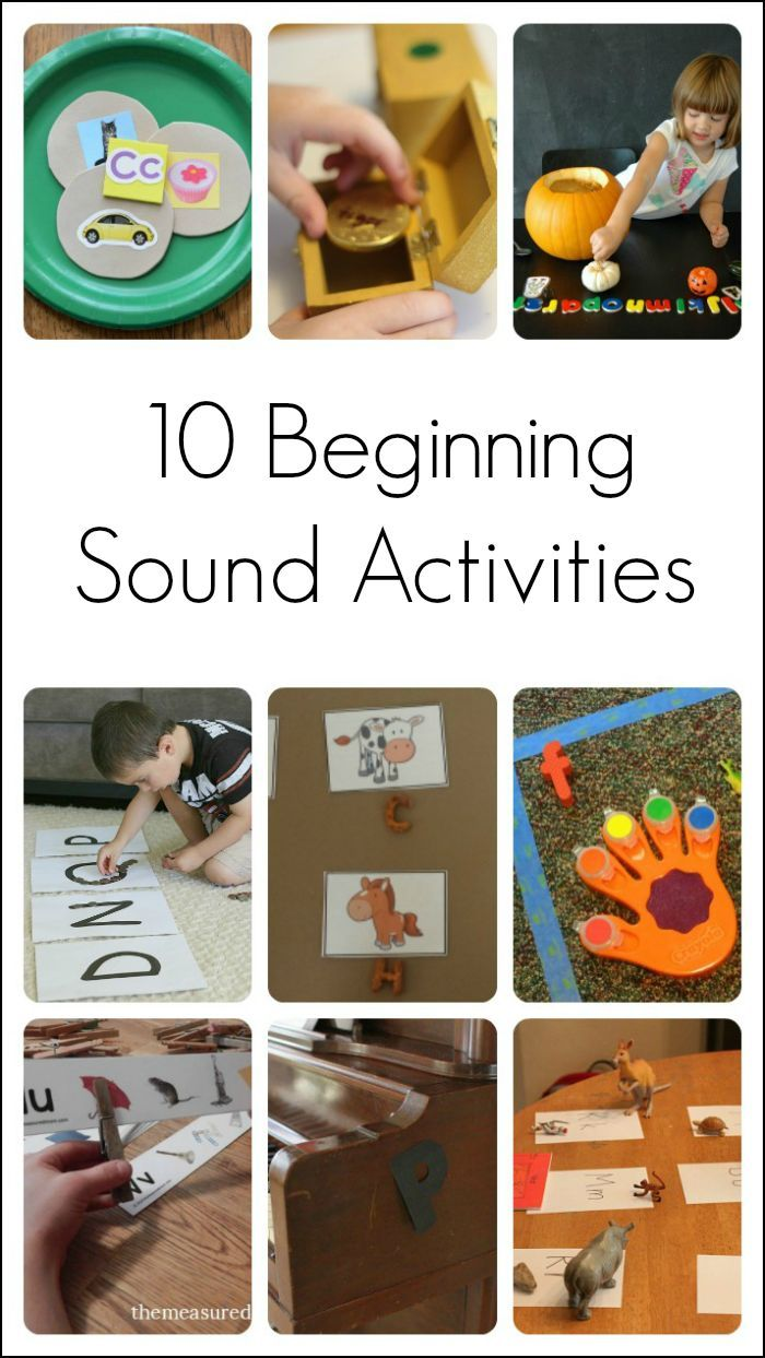 10 Activities to Teach Beginning Sounds & Letters