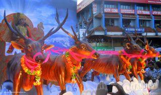 Kerala Photos - Kerala Festivals - Pulikkali, onam, pulikkali, kerala, thrissur, pulikkali pictures, kerala photos, thrissur pictures, keral...