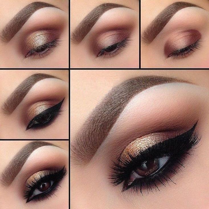 3 Tutoriales De Maquillajes De Ojos Para Fiestas Maquillaje De Ojos Fiesta Tutorial Maquillaje Ojos Maquillaje De Ojos