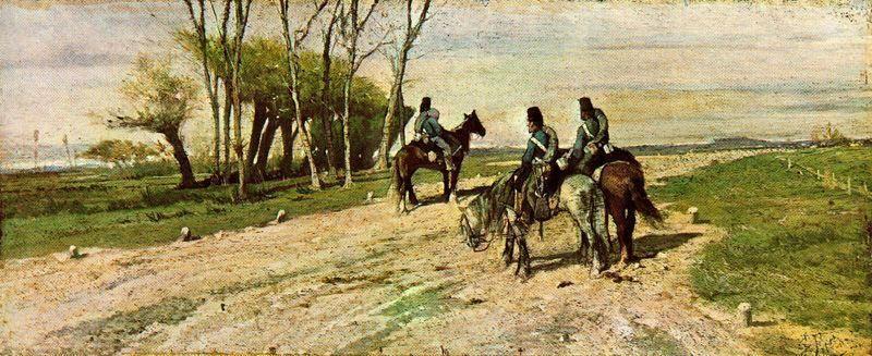 giovanni fattori ''Three horseman on a road'  - Cerca con Google