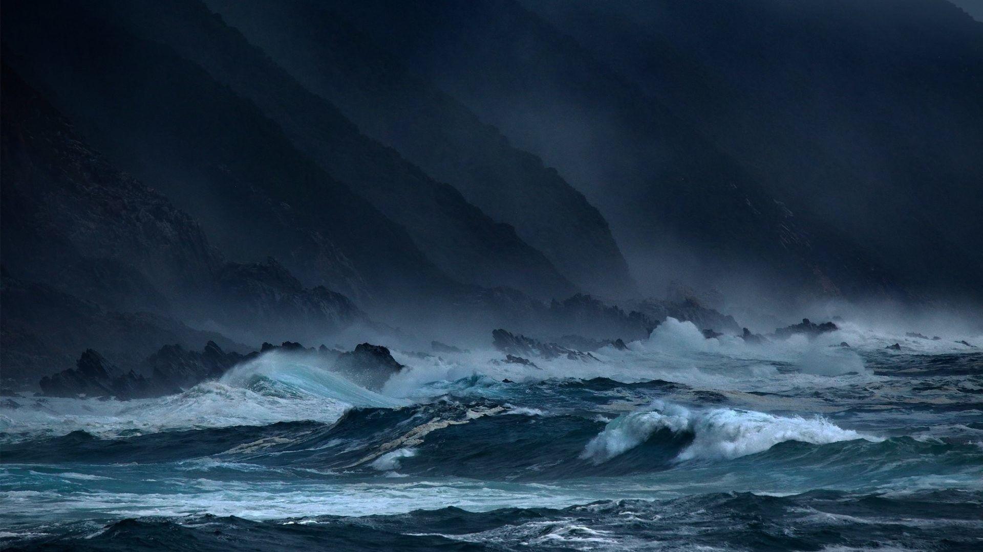 Beautiful Rain Storm Wallpaper 1920X1080 Laptop Storm
