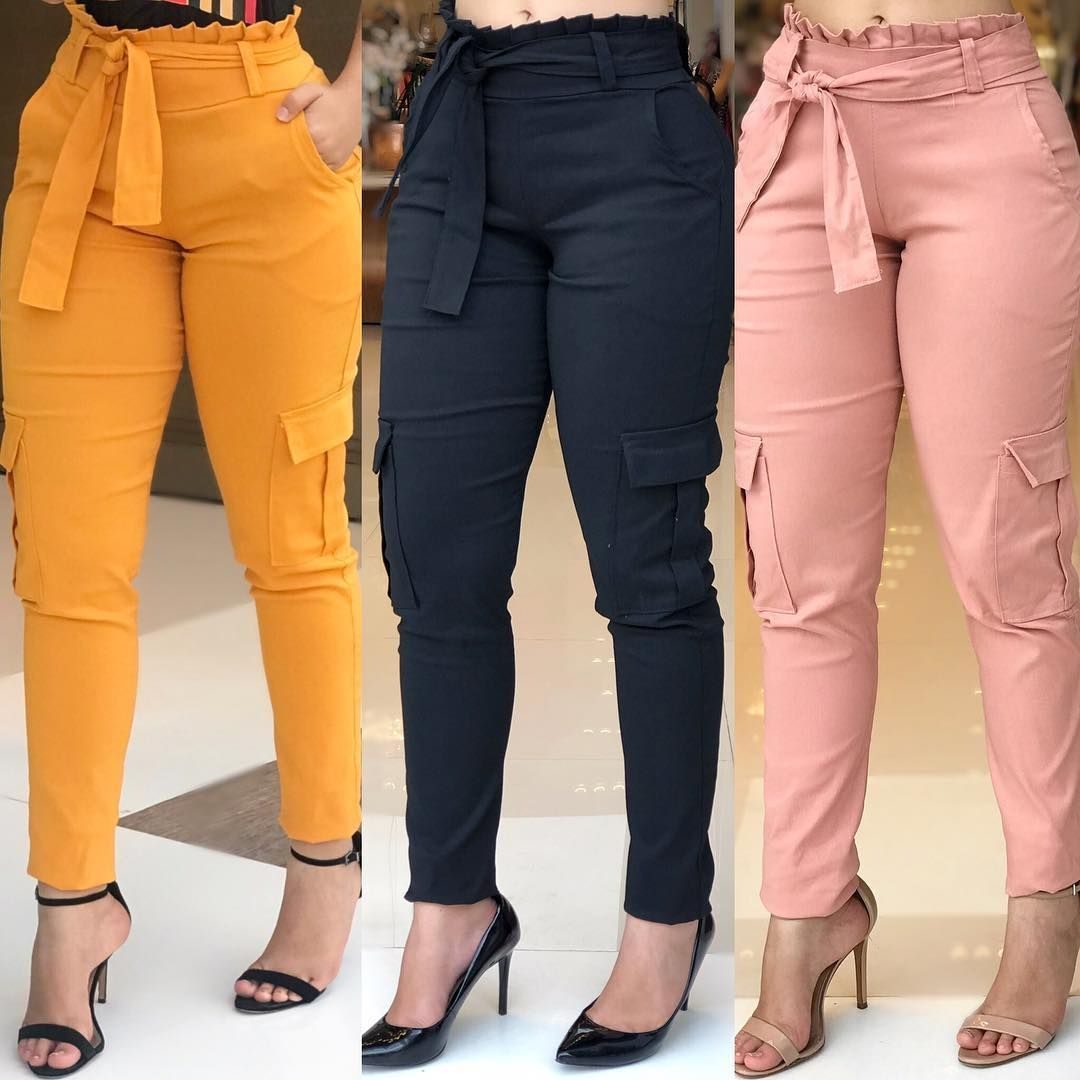 Venta Pantalones De Gabardina Mujer En Stock