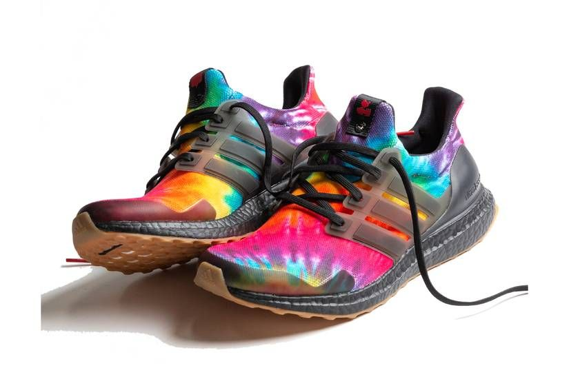 nice kicks adidas consortium ultraboost woodstock tie dye core ...