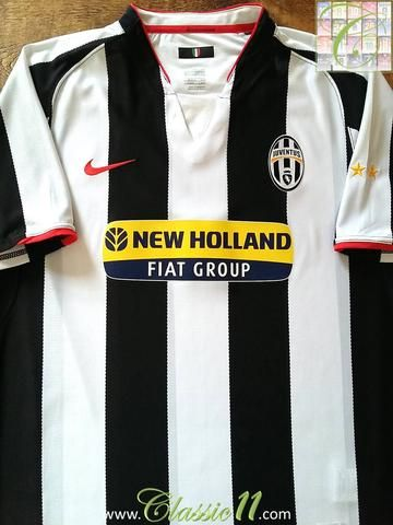 promo code a3e76 34661 Relive Juventus' 2007/2008 season with this original Nike ...