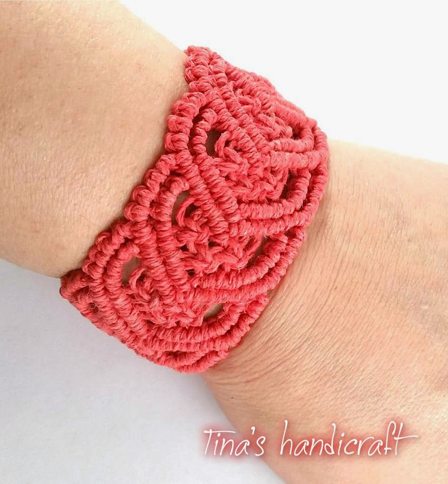 Tinas handicraft bracelet crochet pinterest handicraft it is a website for handmade creationswith free patterns for croshet and knitting in many techniques designs bankloansurffo Images