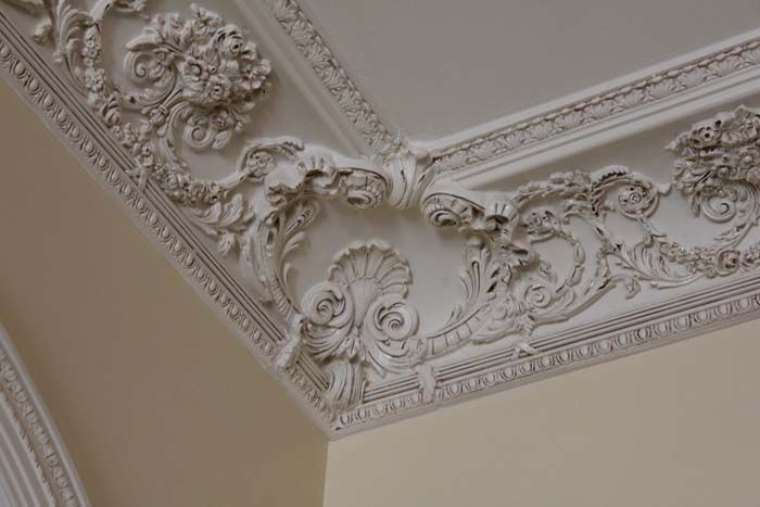 Beautiful Crown Molding With Design