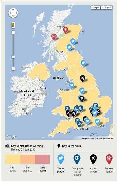Interactive Map Of Uk.Interactive Inspiration 20 Infographics Interactive Map Data