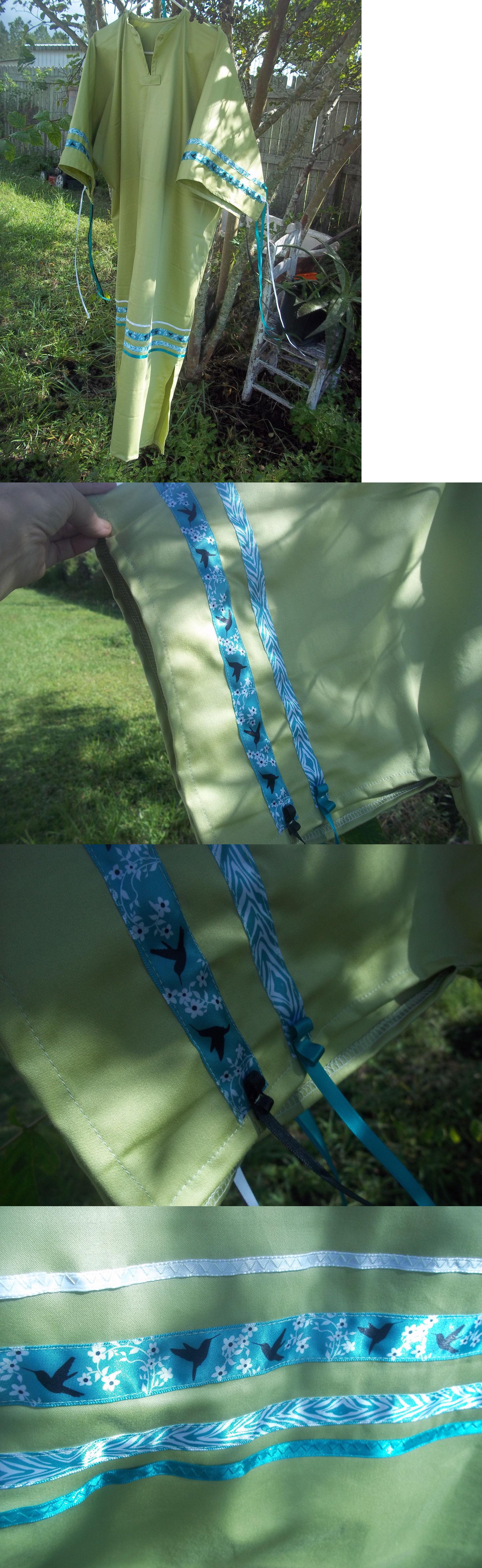 Native american native american ribbon dress ladie size xl