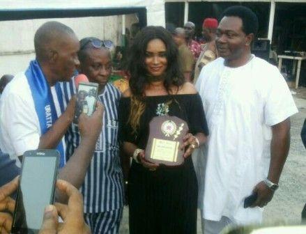 Owerri Community Celebrates Ex-Falcons Keeper, Chiejine