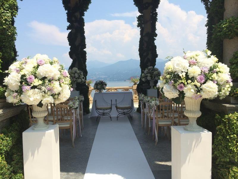 Villa Del Balbianello Wedding Ceremony