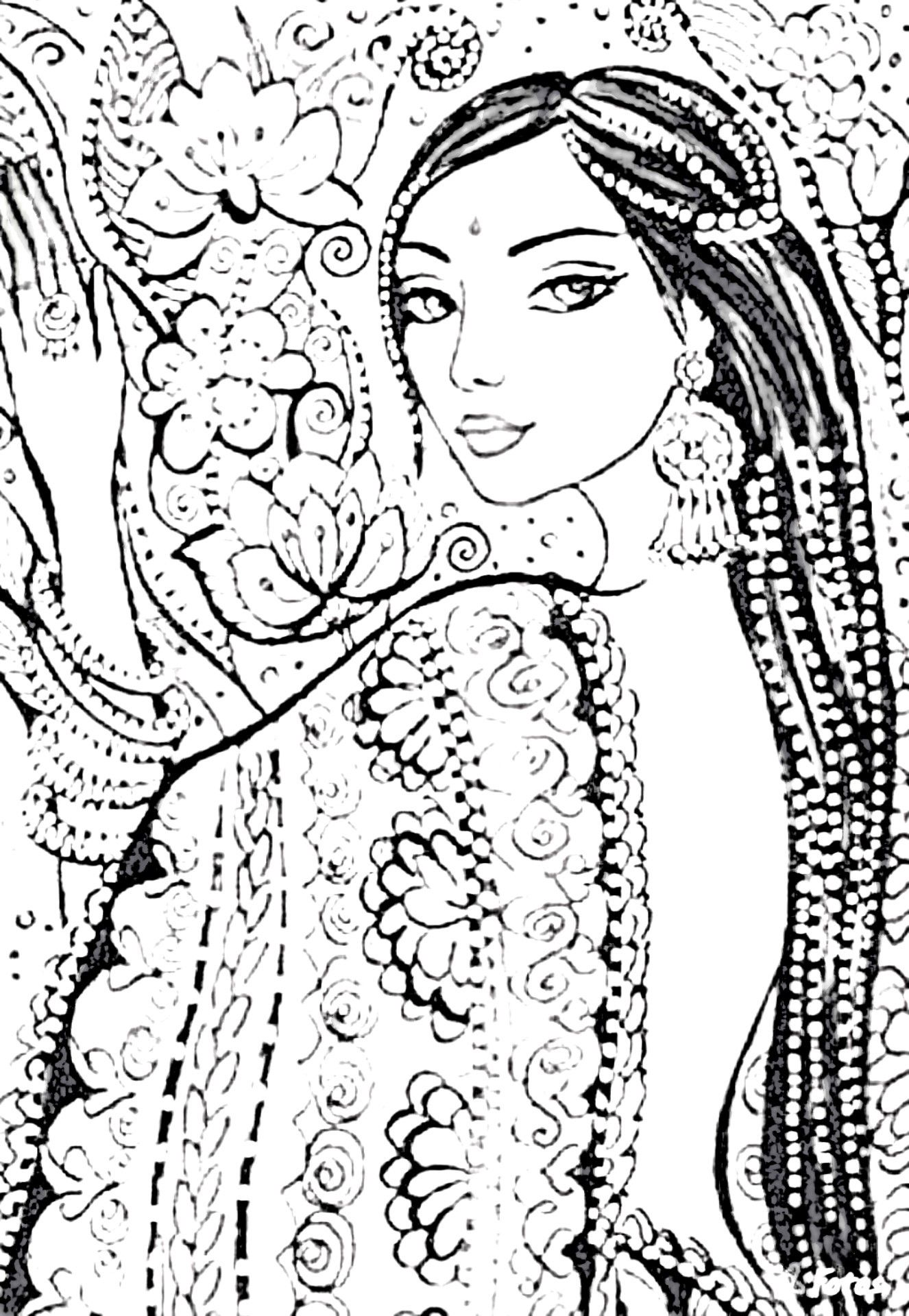 Pin By Cristina B On Asian Persuasion Coloring Pages Zentangle Patterns Coloring Pages Colorful Pictures