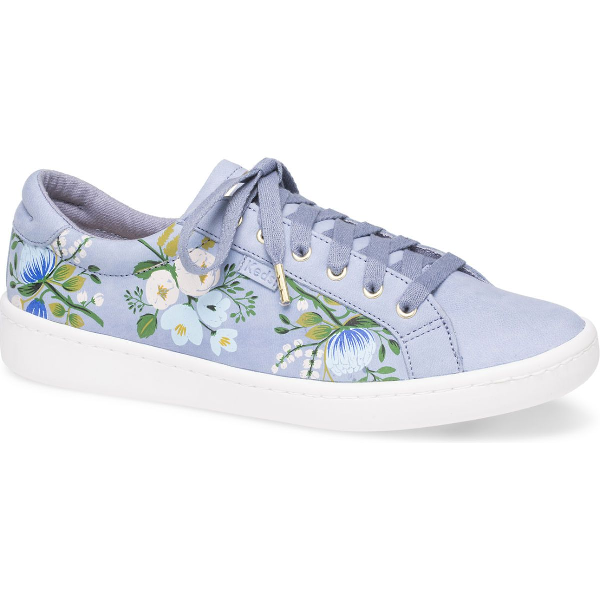 Photo of Keds x Rifle Paper Co. Ace Botanical – Forever Blue