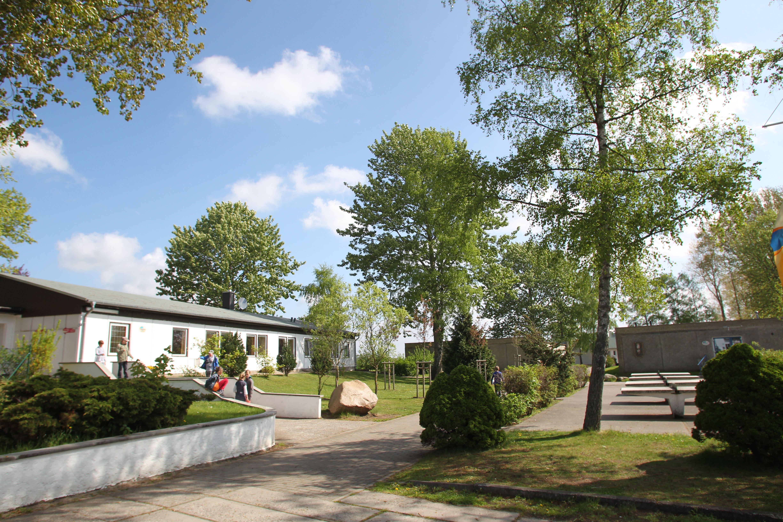 Gelände der Jugendherberge Stralsund