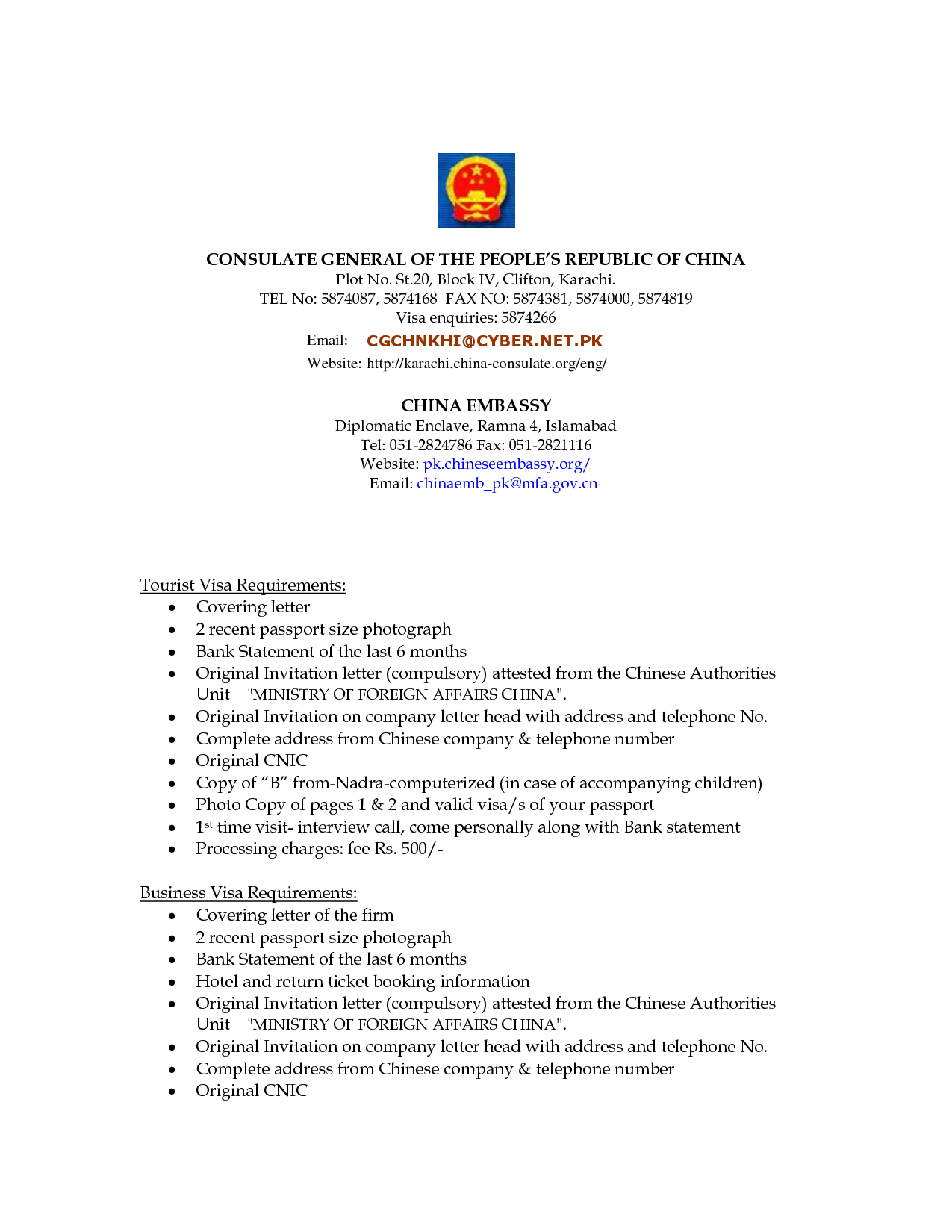 Cover Letter For Us Business Visavisa Application Letter