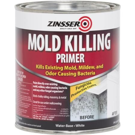 Zinsser Mold Killing Primer Quart - Walmart.com