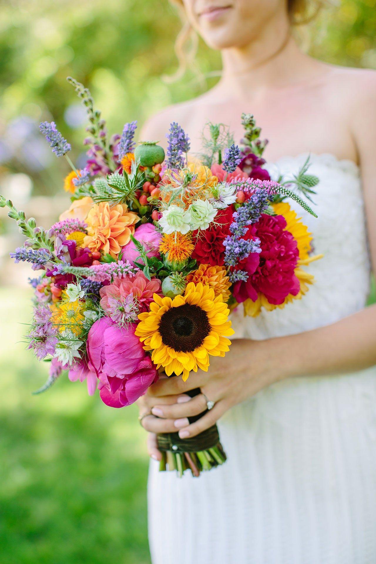 Wedding Bouquet Ideas (BridesMagazine.co.uk)   Peony, 50th and Wedding