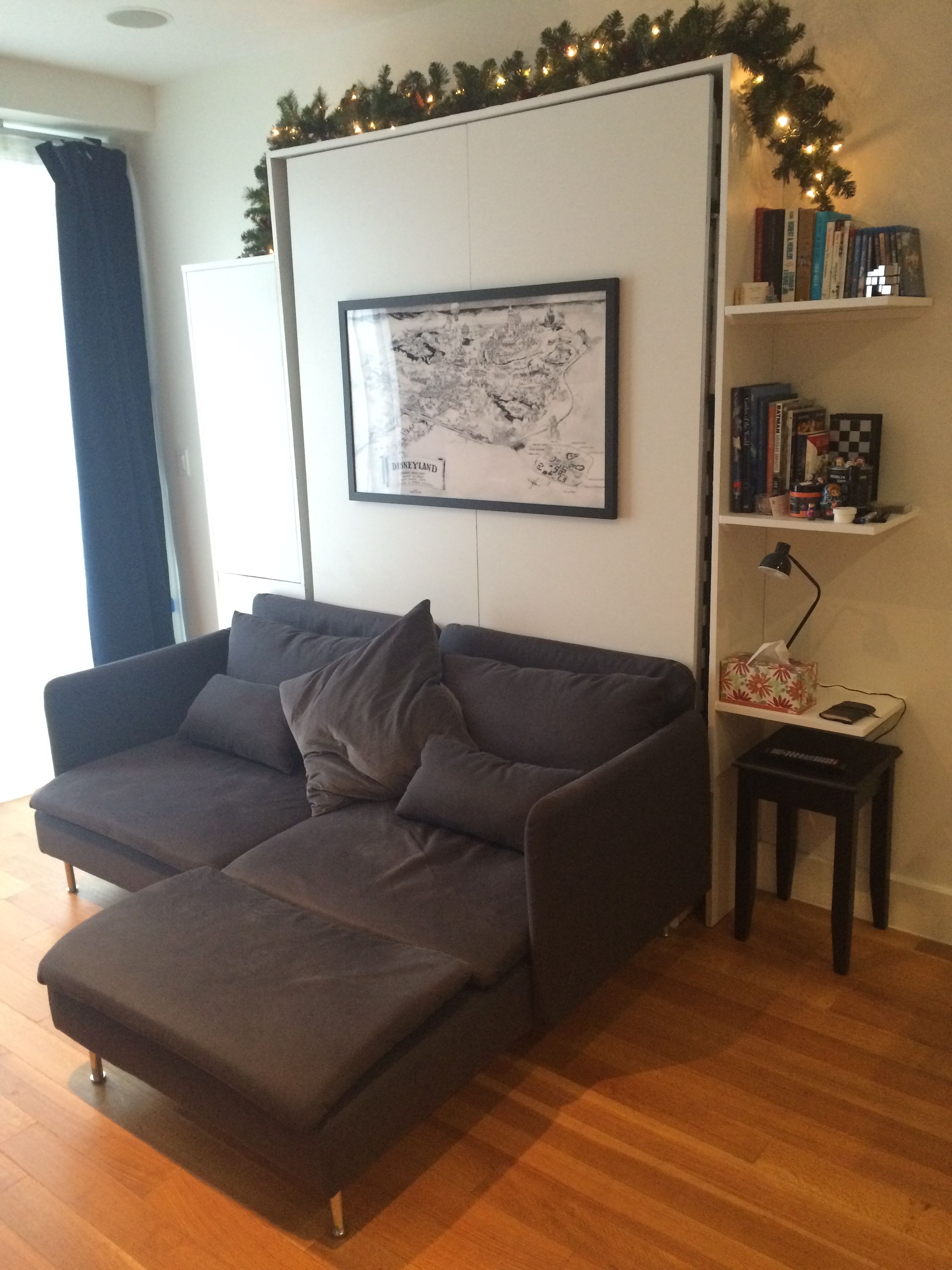 Diy Wall Bed Sofa Cabinet Shelf Combo Murphy Bed Couch Murphy
