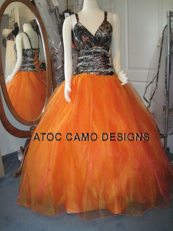 Wedding dresses camo  Too bad my girls got their dresses ordered already uATOCB