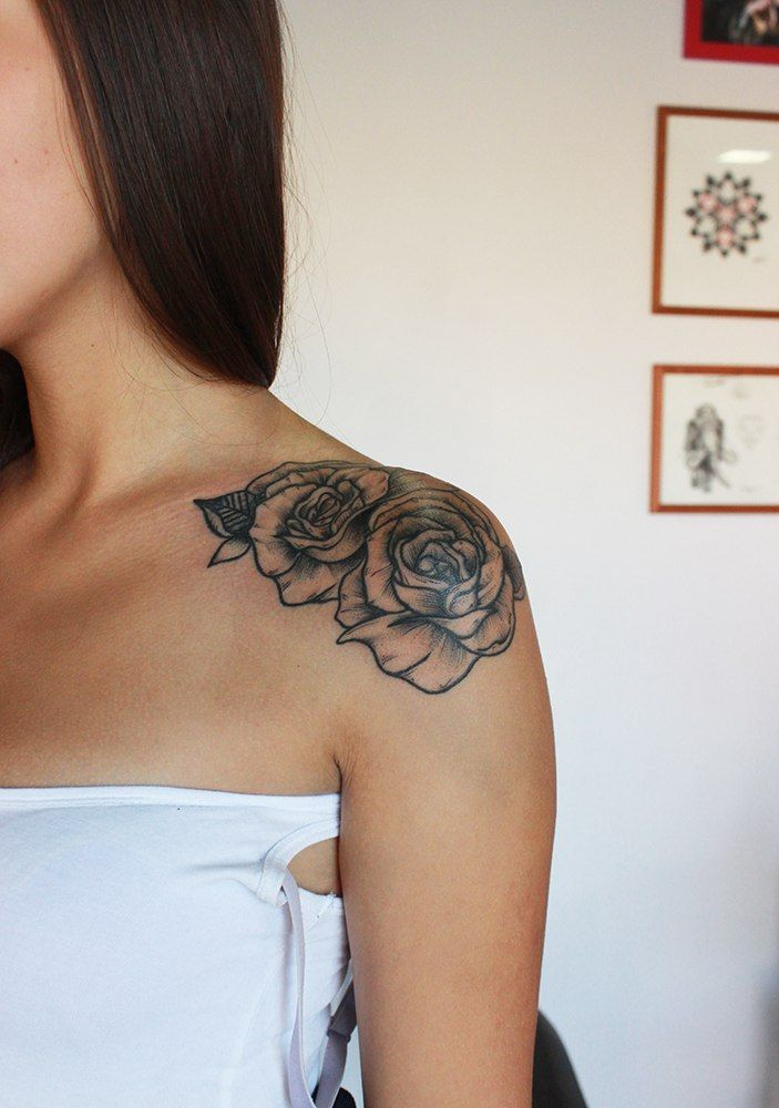 Tattoo Evgeniy Konstantinov - tattoo's photo  In the style  Blackwork, Flowe (253034)