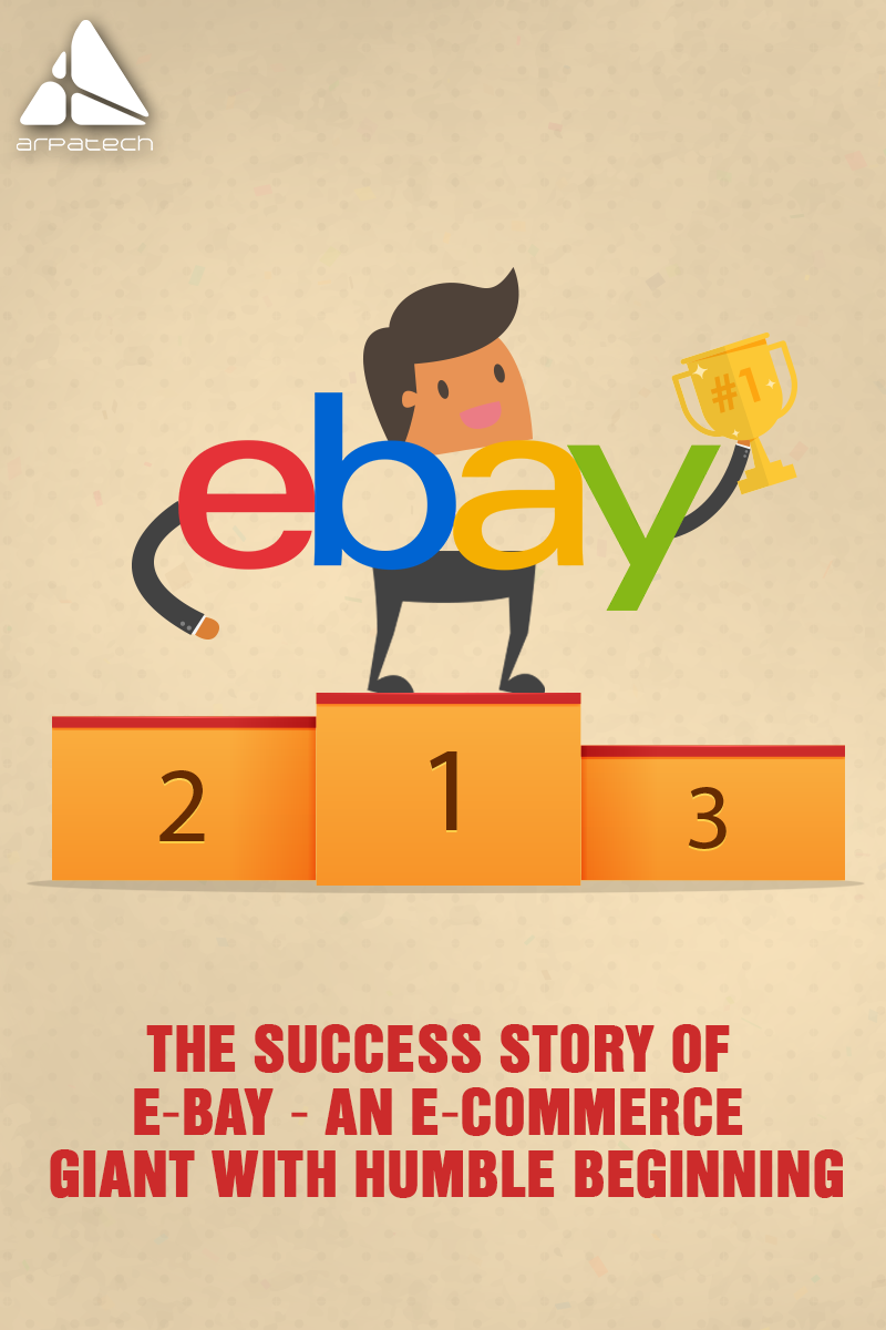 Did You Know Ebay Started As Auctionweb By Entrepreneur Pierre Omidyar In His Living Room In San Jose The Ecommerce Giant Th Success Stories Ecommerce Story