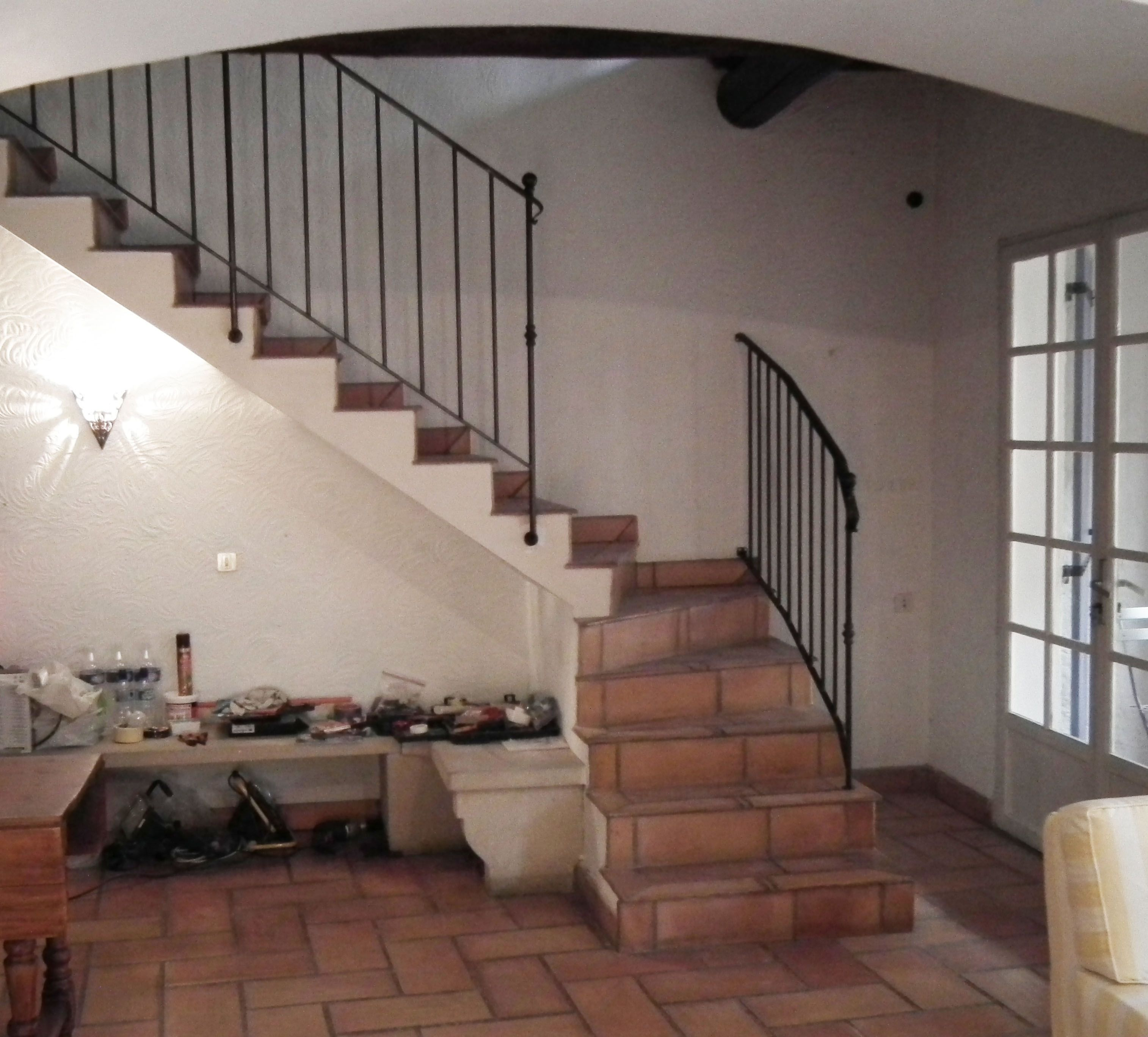new stairs design our new stair railing we love the simple yet traditional - Wall Railings Designs