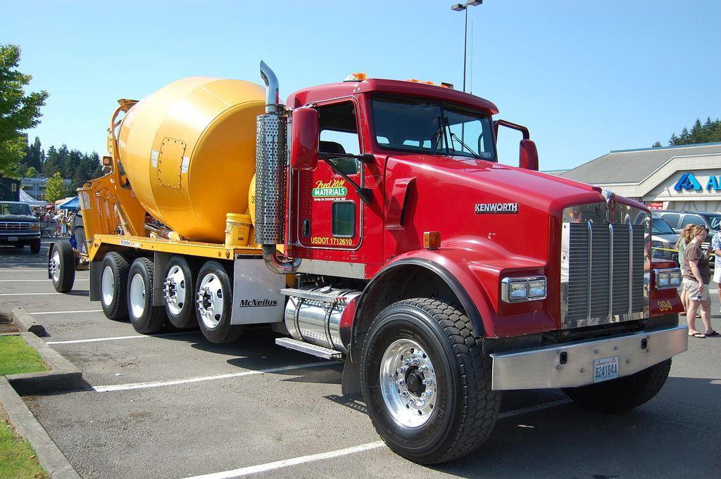 Kenworth Cement Mixer Trucks Heavyhauling Kenworth