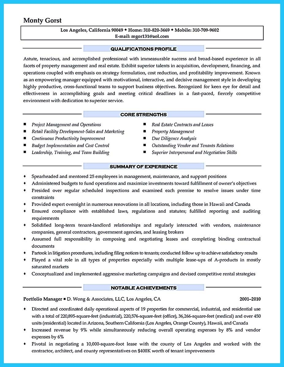 property manager resume objective u2013 printable planner template